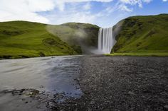 Because Skogafoss. | 25 Reasons Why You Should Peace Out And Go Photograph Icelandhttp://www.wallacetravelgroup.ie/holidays/iceland-holidays.189.html