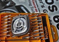 Industrial DNA  Picture by @juz4ray  #sevenfriday #watch #watches #timepiece #billionaire #billionaire #billionairetoys #instawatch #dailywatch #wristshot #watchporn #wristporn #womw #rkoi #luxurywatch #baselworld #richardmille #patekphilippe #hublot #audemarspiguet #rolex #sihh #baselworld #instawatch #instawatches #designwatch #watchesofinstagram #horophile #wruw #watchnerd by sevenfriday_italy
