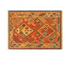 5' x 7' Unye Kilim, Copper/Khaki by Keisari Kilims >> Was $1,100 on sale for $240!! So lovely!