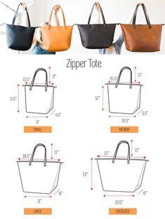 NATURAL CHARACTER Tote Full-Grain Leather Tote Bag HUGE