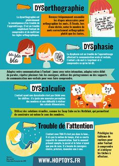 Les troubles DYS et le hassle de l'consideration Autism Education, Education Positive, School Information, Sensory Integration, Trouble, Spanish Language Learning, Parenting Books, Coping Skills, Kids Health