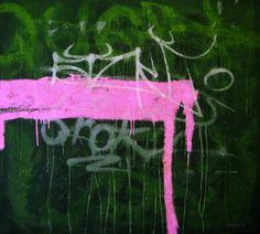 "Saatchi Art Artist Evgen Semenyuk; Painting, ""dos toros"" #art"