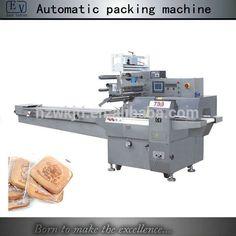 Automatic horizontal pancake packing machine