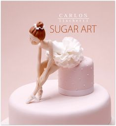 Beautiful ballerina cake topper <3