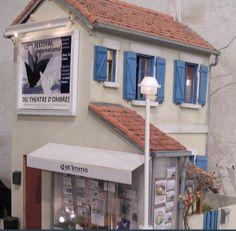 minimanie: la maison bleue