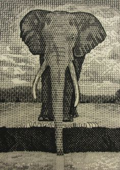 Blackwork by Certificate student Joanna Hart, Royal School of Needlework