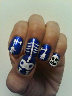halloween nail art | Tumblr check out www.MyNailPolishObsession.com for more nail art ideas.