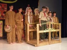 The Arrow of Light Ceremony is held when a Cub Scout in the 5th grade completes the necessary requirements and is then considered a Boy Scout.