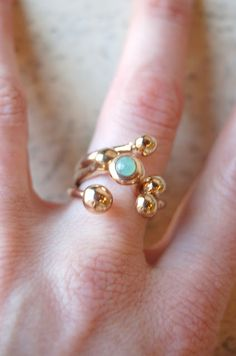 Monica Castiglioni, Wax, Gemstone Rings, Turquoise, Jewels, Silver, Gold, Bling Bling, Beauty