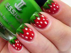 Resultado de imagen para uñas decoradas con frutas