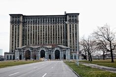 Michigan Central Station. Going to be demolished, then maybe not, then nearly a casino, then going to be demolished again, maybe not, but then again...