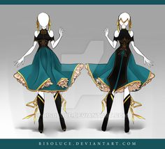 (CLOSED) Adoptable Outfit Auction 94 by Risoluce on DeviantArt
