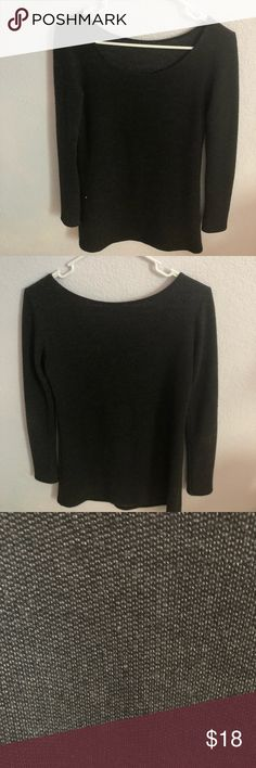 Brandy Melville Sweater Dark Gray Long Sweater Barely worn Brandy Melville Sweaters