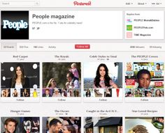 Magazines flocking to Pinterest