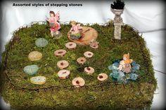 5 cèdre bois stepping stones-2 tailles à choisir par teresab123