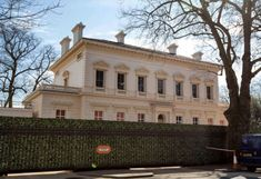 Mr Blavatniks paid £41million for 15 (pictured here) and 15b Kensington Palace Gardens in 2004, reportedly outbidding Roman Abramovich and Lakshmi Mittal