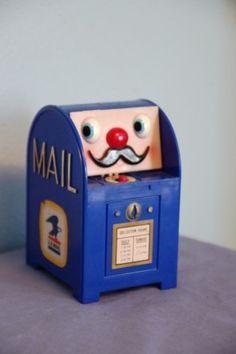 Mustache Mailbox