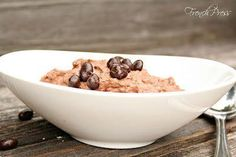 {no cook} Chocolate Chia Seed Mousse