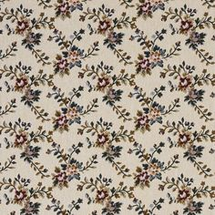 The K7786 PRALINE upholstery fabric by KOVI Fabrics features Floral pattern and Burgundy or Red or Rust, Coral or Orange or Persimmon, Dark Green, Light Geen, White or Off-White as its colors. It is a Tapestry type of upholstery fabric and it is made of 36% polyester, 32% cotton, 32% Olefin material. It is rated Exceeds 50,000 Double Rubs (Heavy Duty) which makes this upholstery fabric ideal for residential, commercial and hospitality upholstery projects