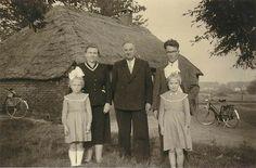 MiddenJeff van de Kerkhof, huisje aan de Kampstraat, waarschijnlijk family van de Voort.