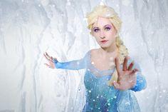 Frozen by adelhaid.deviantart.com on @deviantART #Frozen #cosplay #Elsa