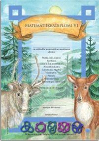 Matematiikkalehti Solmu: Matematiikkadiplomi, kattavat tehtäväpaketit eri vuosiluokille
