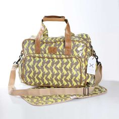 Hip Hop Butter on Clay Nappy Bag