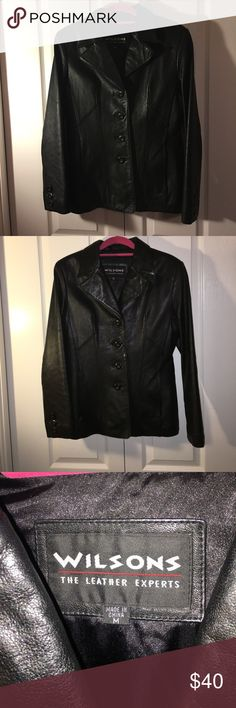 Women's leather jacket Wilson's- The leather experts leather jacket.  Great condition. Wilsons Leather Jackets & Coats Blazers