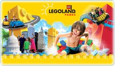 LEGOLAND Parks. Legos are awesome. I love them so much. I have wanted to go since I was in 6th grade.