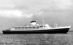 The gorgeous ANDREA DORIA, Italian Line 1950s.