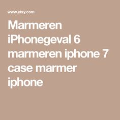 Marmeren iPhonegeval 6 marmeren iphone 7 case marmer iphone