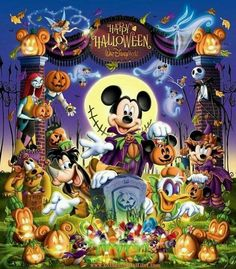 Disney Halloween - In honor of Halloween Time at Disneyland Park