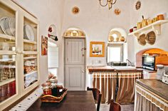 Loutra Villa - traditional kitchen