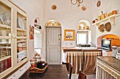 Loutra Villa - traditional kitchen