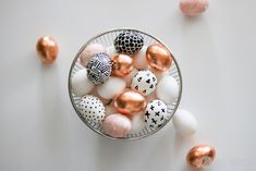 This easter egg diy is a super fun craft for kids or for you to trendy up your home. These Easter eggs will put a smile on anyone's face. Make Easter fun