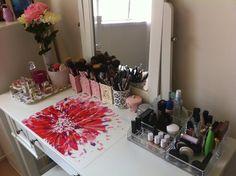 17 meninas reais mostrar as suas Chic, toucadores Organizados   PopSugar Beauty UK
