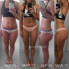 """Are you trying to make a transformation? Whats working for you? @sophactivelife: """"Back to where it all began! Back in September 2015 I decided (for the second time) to have a go at @kayla_itsines BBG workouts I managed a year of BBG 1 x 2 BBG 2 x 2 and another round of BBG 1 before moving my focus to weight lifting a few things I've learned: 1 results take time & consistency 2 progress isn't always linear 3 your diet plays a HUGE role in fat loss/ muscle gain & body sculpting 4 weights are"""