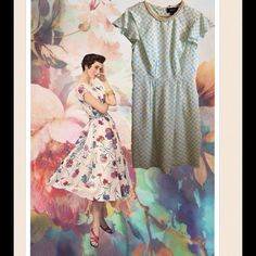 """Jason Wu Bicycle Printed Dress W/Pearl Neckline Jason Wu Bicycle Printed Dress W/Pearl Neckline. Great condition! Adorable! A-Line. Fully lined polyester. Flutter sleeves. Back zipper. Ivory, turquoise and yellow. Designer details. Bust 38"""", waist 30"""", length 37"""" Jason Wu Dresses Midi"""