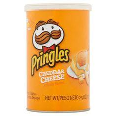 Pringles Cheddar Cheese Potato Crisps, 2.5 oz  195111P157