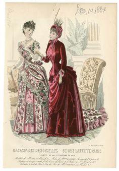 Women 1884, Plate 050 :: Costume Institute Fashion Plates