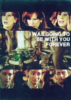I was going to be with you forever. #doctorwho #donnanoble #10thdoctor
