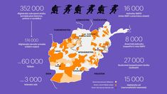INFOGRAFIKA DNE: Kdo válčí v Afghánistánu? Tálibán 17 let po vpádu USA setrvale sílí a prolévá krev Afghanistan, Usa, Movie Posters, Film Poster, Billboard, Film Posters, U.s. States