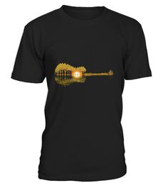 """# Guitar Lake Shadow T-Shirt .  100% Printed in the U.S.A - Ship Worldwide*HOW TO ORDER?1. Select style and color2. Click """"Buy it Now""""3. Select size and quantity4. Enter shipping and billing information5. Done! Simple as that!!!Tag: guitar, Guitarist, heavy metal, hard rock, the blues, or folk music, electric guitar shirt, Acoustic"""