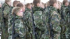 YLE News 2.3.2016 || Record number of women seek to volunteer for Defence Forces ||   While Finnish men are subject to compulsory conscription, women have been allowed to sign up as volunteers since 1995. During that time some 7,000 have done so.