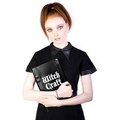 Witch craft clutch zwart – occult/gothic - Disturbia