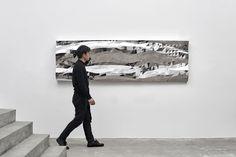 Mashing Mesh mirrors by Zhoujie Zhang mimic water | THE UT.LAB | Geometric Designs *