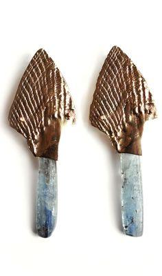 Suzannah Wainhouse Feather Earrings