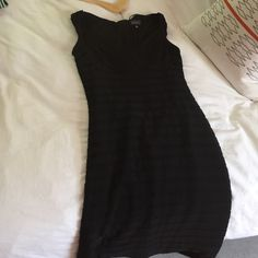 Little Black Dress Only worn once! Very flattering! Adrianna Papell Dresses