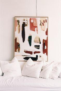 'FIORE' — Ash Holmes Art Painting Inspiration, Art Inspo, Bedroom Art, Diy Art, Collage Art, Home Art, Wall Art Decor, Decoration, Art Drawings