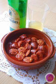 Guta Mamá!: Chorizos a la sidra